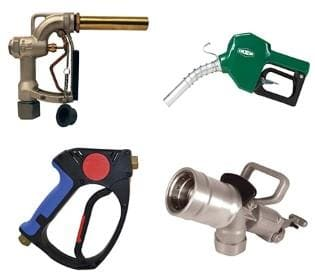 Dixon Nozzles, Spray Guns & Accessories