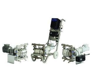 Graco Sanitary Electric Diaphragm Pumps