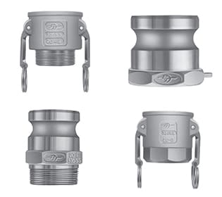 Basic Standard Cam & Groove Couplings