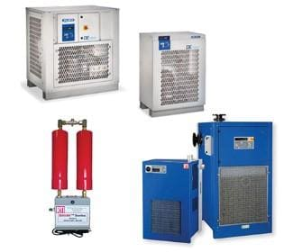 Desiccant & Refrigerated Dryers