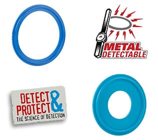 Dectectomer Metal Detectable/X-ray Inspectable Gaskets