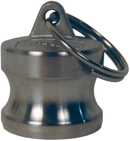 3//4 Plug x 3//4 NPT Female Dixon G75-A-SS Investment Cast Stainless Steel 316 Global Type A Cam and Groove Hose Fitting