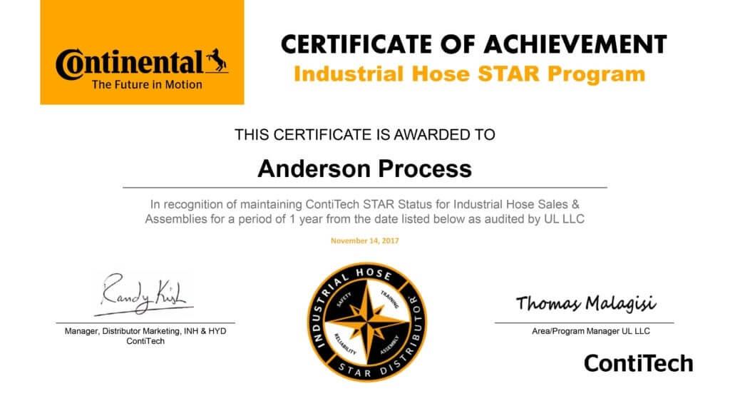 Continental Hose STAR Distributor